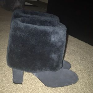 Shoes - Rockport Shearling Booties